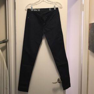 Hurley Navy Skinny Jeans